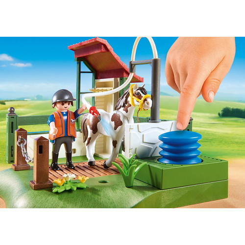 Playmobil Horse Grooming Station lifestyle 3