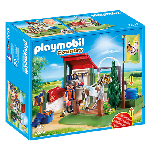 Playmobil Horse Grooming Station packaging