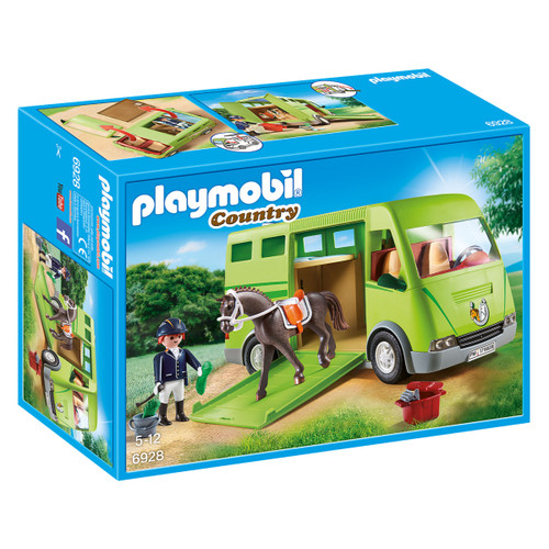 Playmobil Horse Transporter packaging