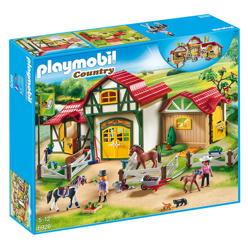 Playmobil Horse Farm packaging
