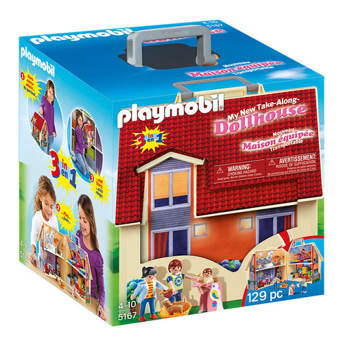 Playmobil Take Along Modern Doll House packaging