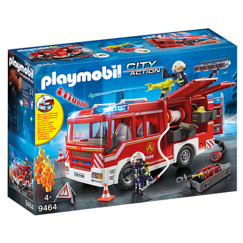 Playmobil Fire Engine packaging