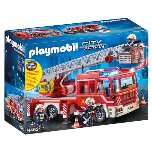 Playmobil Fire Engine with Ladder packaging