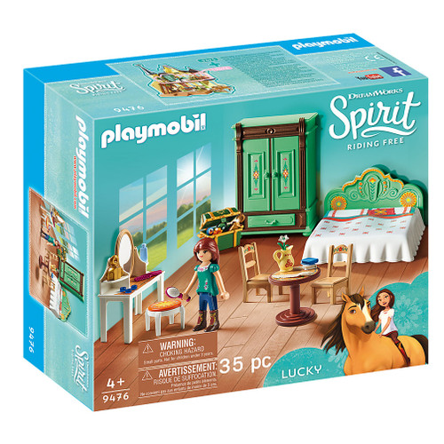 Playmobil Lucky's Bedroom packaging