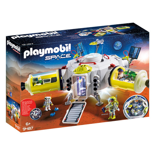 Playmobil Mars Space Station packaging