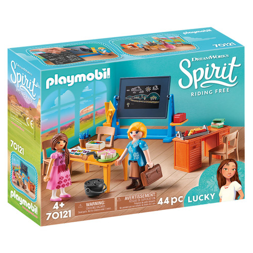 Playmobil Miss Flores' Classroom packaging