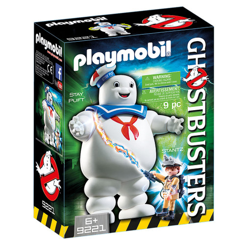 Playmobil Ghostbusters Marshmallow Man packaging