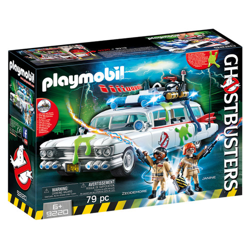 Playmobil Ghostbusters Ecto-1 Vehicle packaging