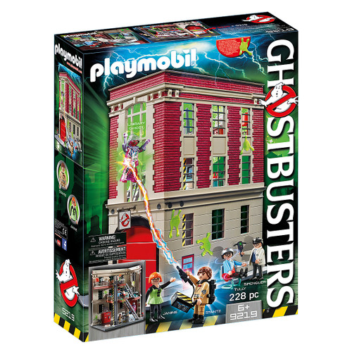 Playmobil Ghostbusters Headquarters packaging