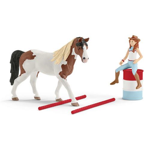 Schleich Horse Club Hannah's Western Riding Set