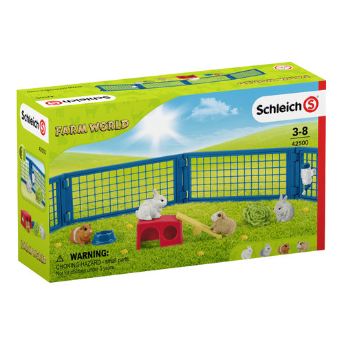 Schleich Home For Rabbits And Guinea Pigs packaging
