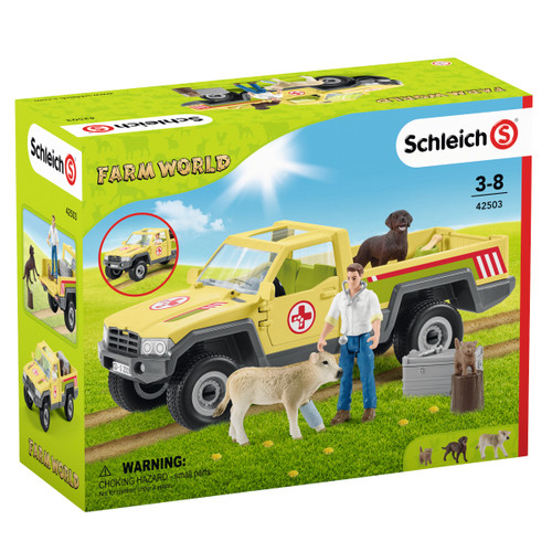 Schleich Vet Visit To The Farm packaging