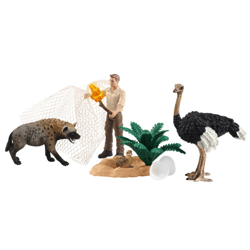 Schleich Attack Of The Hyena