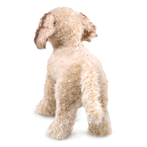 Folkmanis Labradoodle Puppy Puppet back