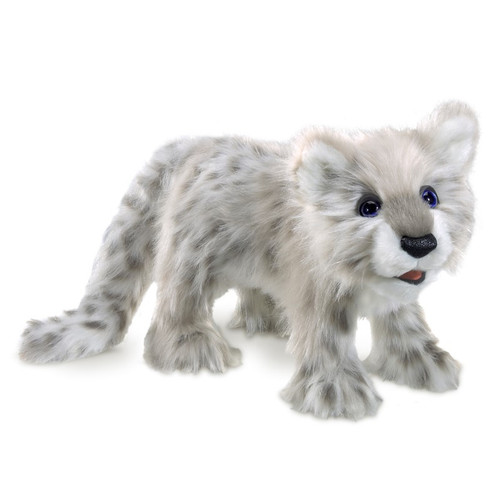 Folkmanis Snow Leopard Cub Puppet