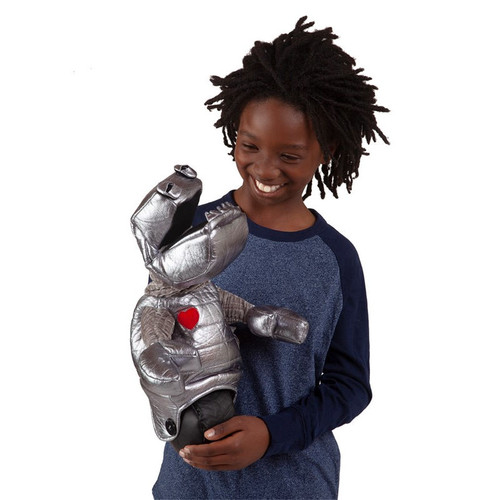 Folkmanis Robot Puppet with boy