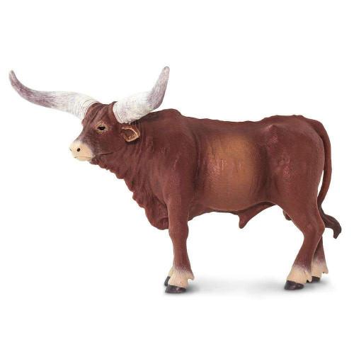 Safari Ltd Watusi Bull side view