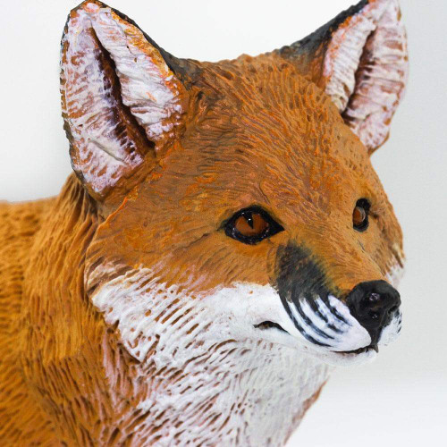 Safari Ltd Red Fox Jumbo closeup