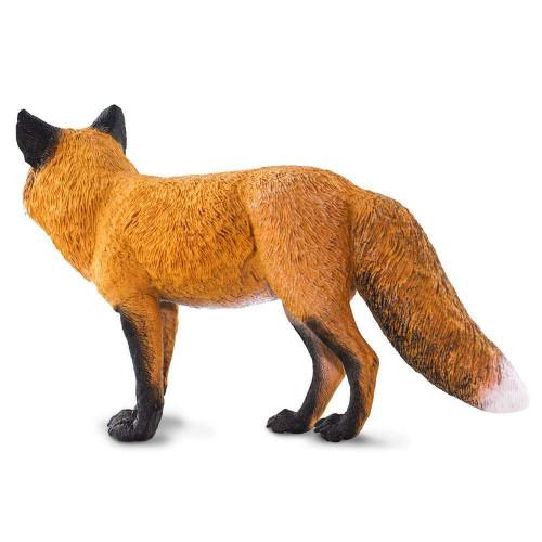 Safari Ltd Red Fox Jumbo back side view