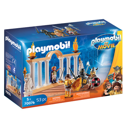 Playmobil: The Movie Emperor Maximus in the Colosseum packaging