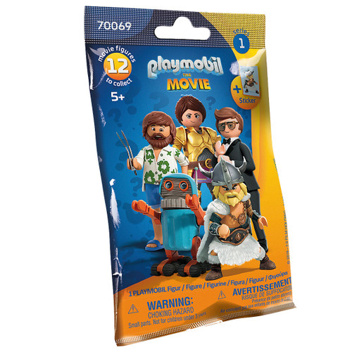 Playmobil: The Movie Figures (Series 1) Blind Bag packaging