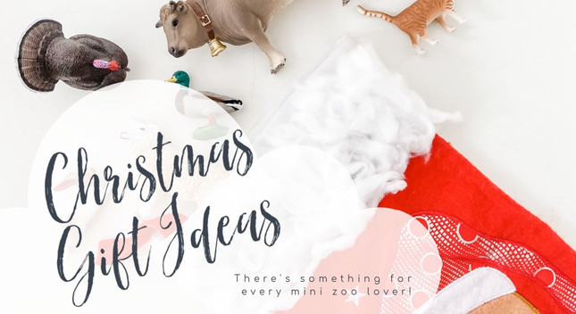 Christmas Gift Ideas | MiniZoo Blog