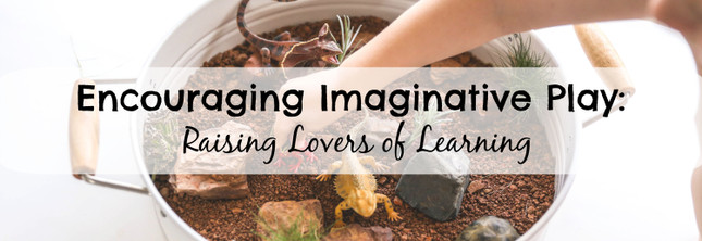 Encouraging Imaginative Play: Raising Lovers of Learning | MiniZoo Blog