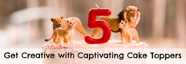 Get Creative with Captivating Cake Toppers | MiniZoo Blog