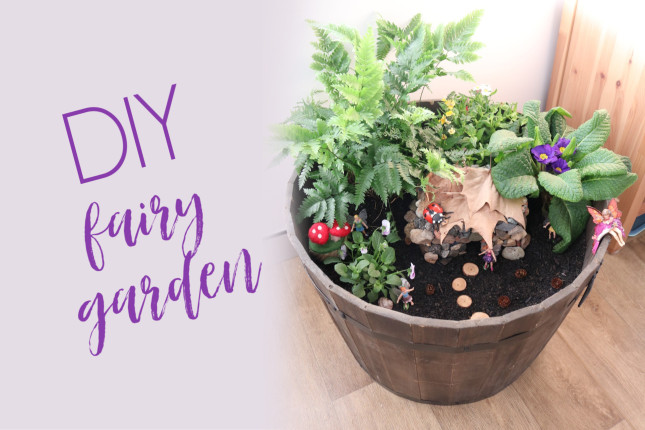 DIY Small World - Fairy Garden | MiniZoo Blog