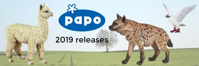 Papo 2019 Releases | MiniZoo Blog
