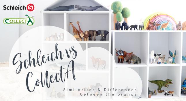 Schleich and CollectA | MiniZoo Blog