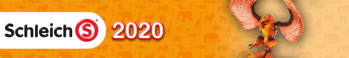 Schleich 2020 Banner. Click here to go back to Scleich
