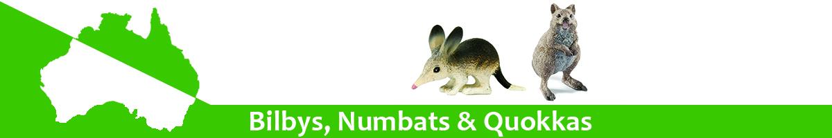 Bilby, Numbats & Quokkas banner