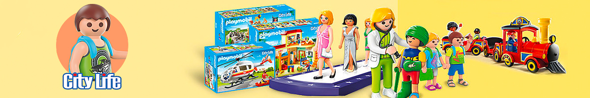 Playmobil City Life banner - Click here to go back to Playmobil
