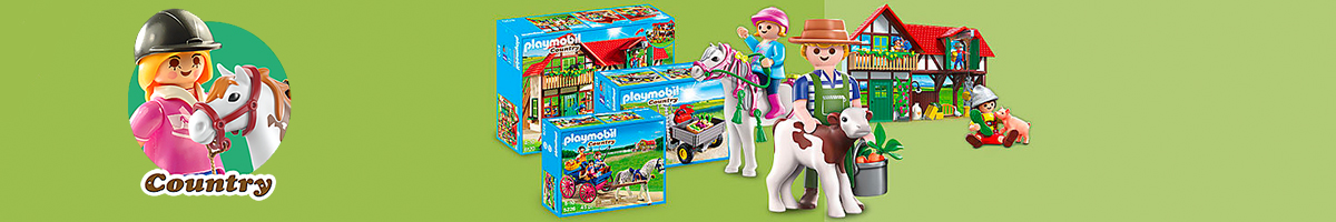 Playmobil Country Life banner - Click here to go back to Playmobil