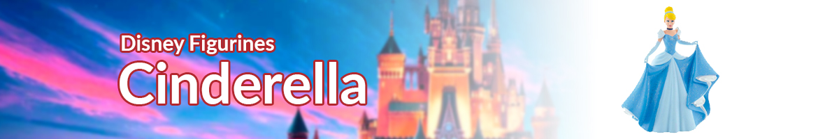 Disney Figurines Cinderella banner - Click here to go back to Disney Figurines