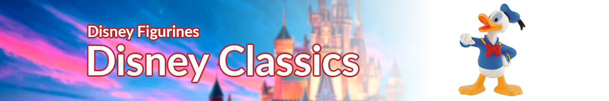 Disney Figurines Disney Classics banner - Click here to go back to Disney Figurines