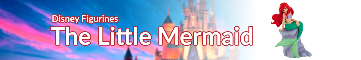Disney Figurines The Little Mermaid banner - Click here to go back to Disney Figurines