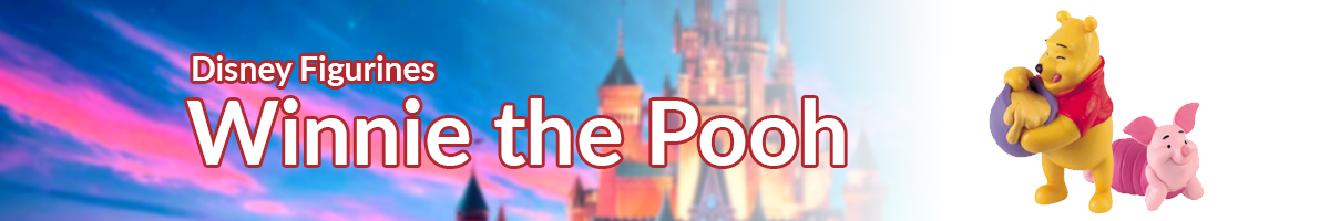 Disney Figurines Winnie the Pooh banner - Click here to go back to Disney Figurines