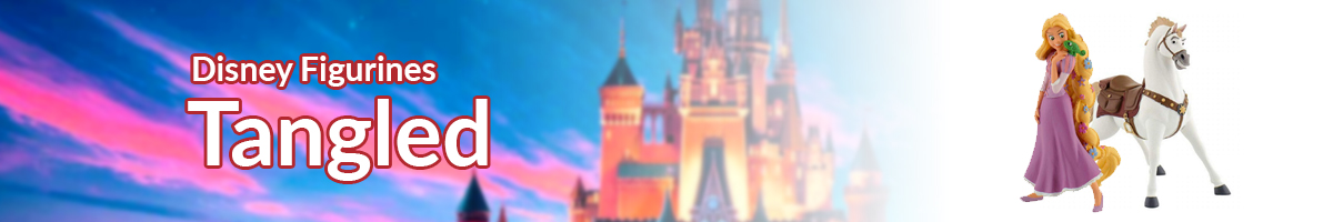 Disney Figurines Tangled banner - Click here to go back to Disney Figurines