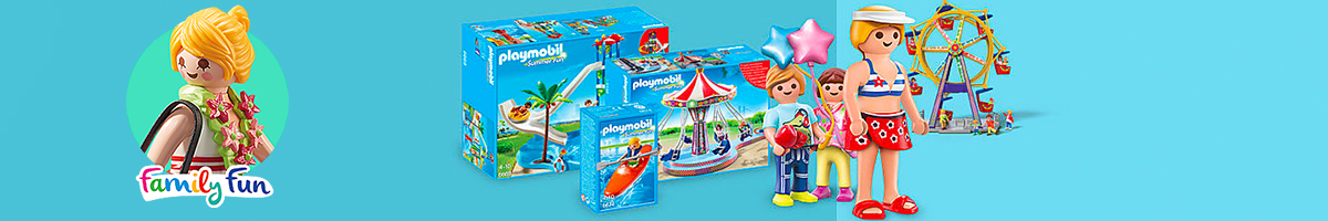 Playmobil Family Fun banner - Click here to go back to Playmobil