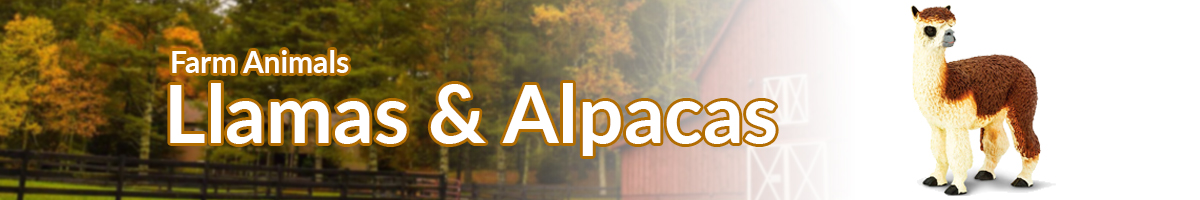 Farm Animals Farm Llamas & Alpacas banner - Click here to go back to Farm Animals