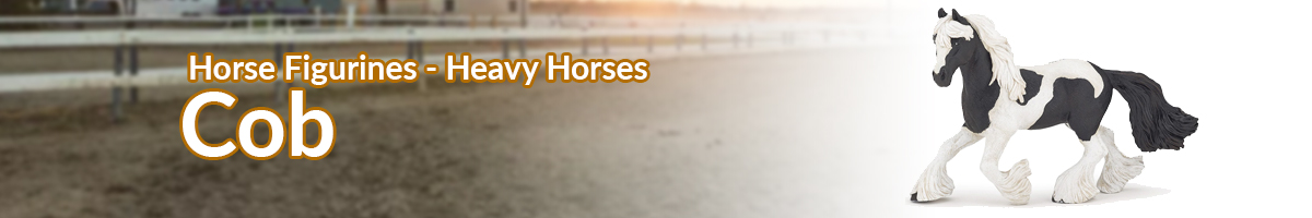 Horse Figurines Cob banner - Click here to go back to horse figurines
