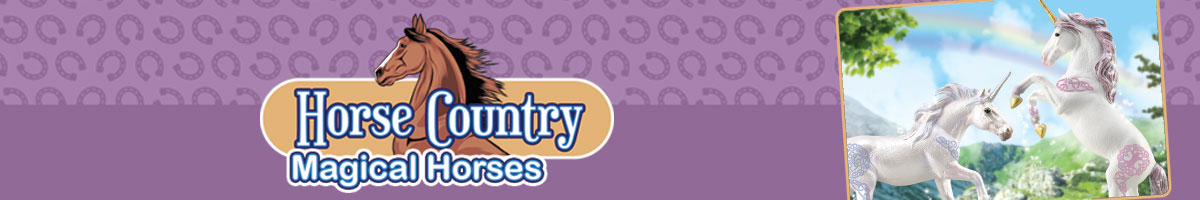 Collecta Horse Country Magical Horses toy figurines. Click here to go back to Collecta