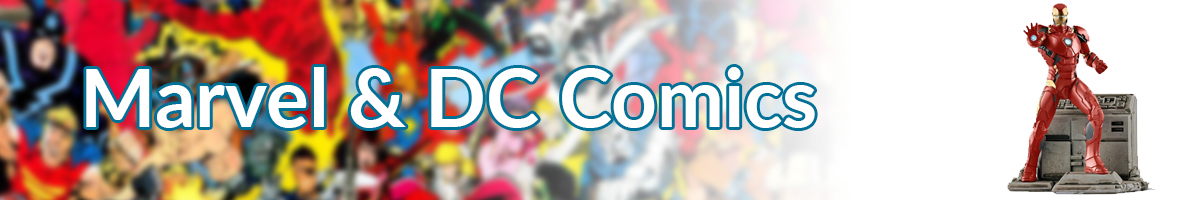 Marvel & DC Comics main banner