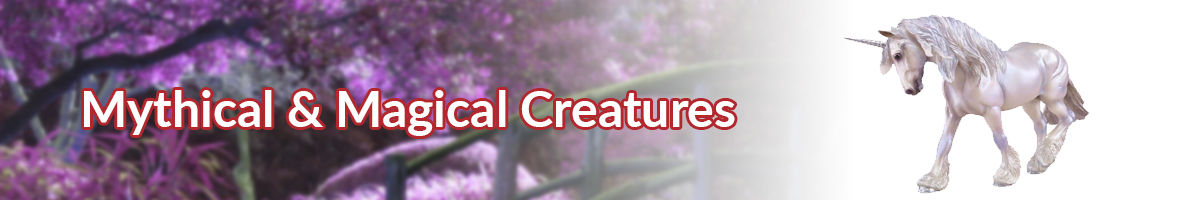 Mythical and Magical Creatures banner