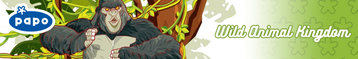 Papo Wild Animal Kingdom banner