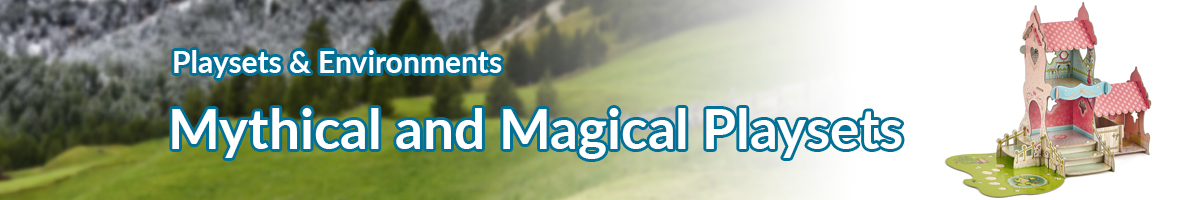 Playsets and Environments Mythical and Magical Playsets banner - Click here to go back to Playsets and Environments