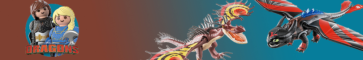 Playmobil Dragons banner - Click here to go back to Playmobil