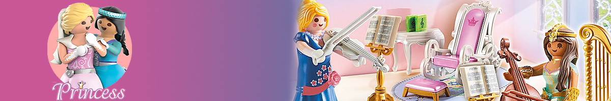 Playmobil Princess banner - Click here to go back to Playmobil